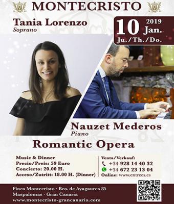 VIVA LA ÓPERA con Tania Lorenzo y Nauzet Mederos