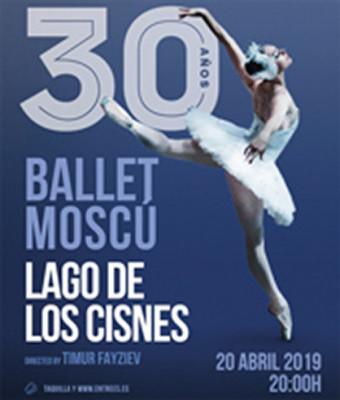 Ballet de Moscú  Presenta: El Lago de Los Cisnes