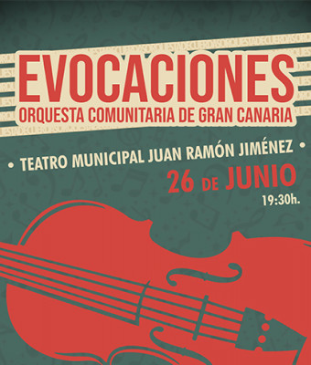 EVOCACIONES, Orquesta comunitaria de Gran Canaria