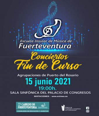 Concierto Final de Curso Escuela Insular de Música