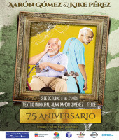 75 ANIVERSARIO, AARÓN GÓMEZ Y KIKE PÉREZ