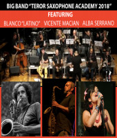 "Big Band ""Teror Saxophone Academy 2018"" featuring Francisco Blanco ""Latino"" & Vicente Macian"