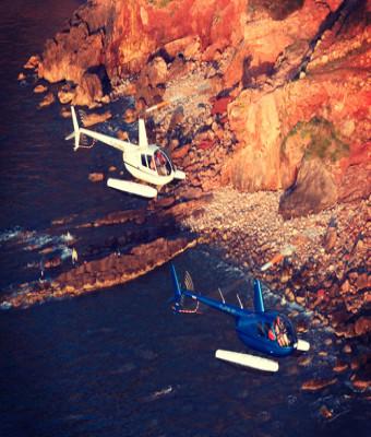 Paseo en helicóptero por Mallorca
