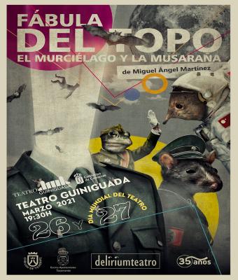 FÁBULA DEL TOPO, EL MURCIÉLAGO Y LA MUSARAÑA