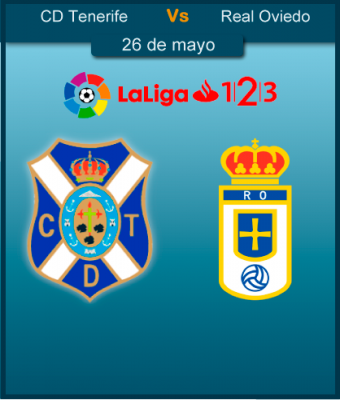J40 - LaLiga 123 - CD Tenerife VS R. Oviedo