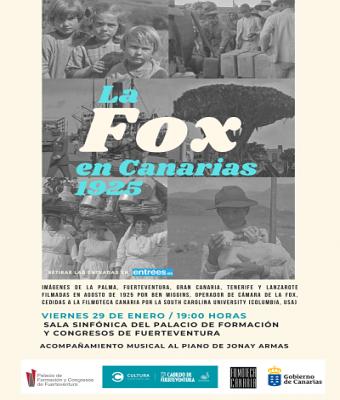 La Fox en Canarias 1925