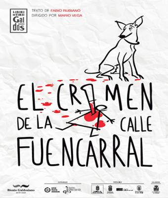 EL CRIMEN DE LA  CALLE FUENCARRAL-LABORATORIO GALDÓS