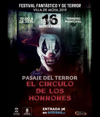 """Pasaje del terror """"El Círculo de los horrores"""""""