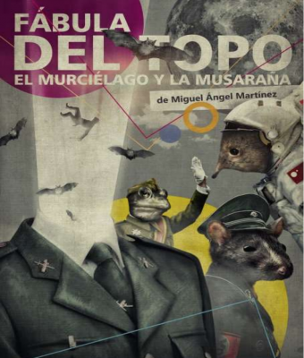 LA FÁBULA DEL TOPO, EL MURCIÉLAGO Y LA MUSARAÑA