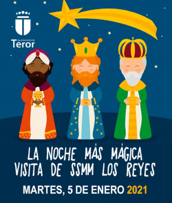 LA NOCHE MÁS MÁGICA. Acto de Visita de SSMM Los Reyes de Oriente