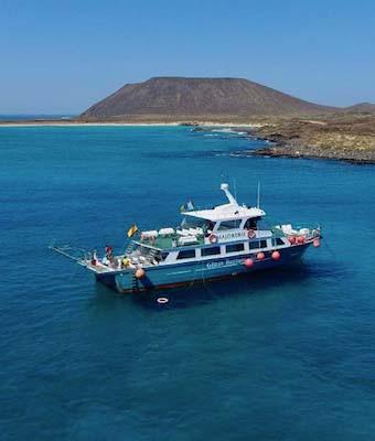 Minicrucero y snorkel Isla de Lobos