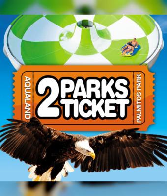 2Parks ticket - Palmitos y Aqualand