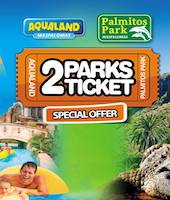 2Parks ticket - Palmitos y Aqualand