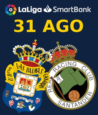 LaLiga 123 - UD Las Palmas VS Real Racing Club
