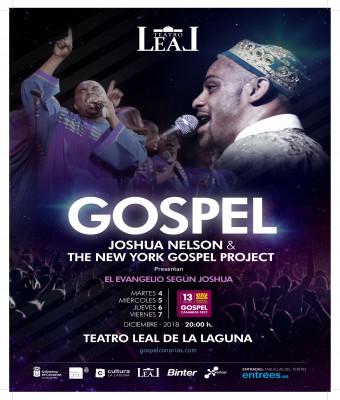GOSPEL CANARIAS FESTIVAL 2018 - JOSHUA NELSON & THE NEW YORK GOSPEL PROJECT