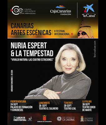 Nuria Espert & La Tempestad. Vivaldi Natura: Las Cuatro Estaciones