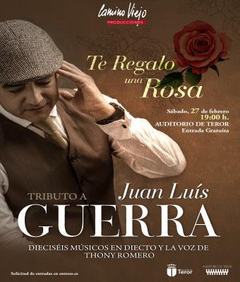 """Te regalo una rosa. Tributo a Juan Luis Guerra """"Carnaval 2021-Teror"""""""