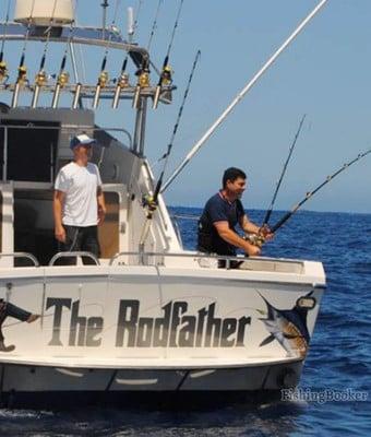Pesca deportiva con The Rodfather
