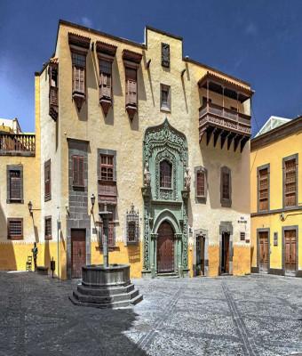 Visita guiada al casco histórico de Vegueta y Cristóbal Colón