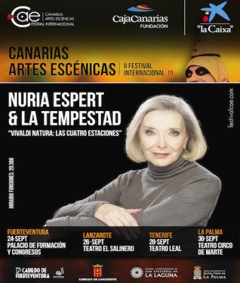 "NURIA ESPERT & LA TEMPESTAD ""VIVALDI NATURA: LAS CUATRO ESTACIONES"""
