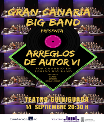ARREGLOS DE AUTOR VI-GRAN CANARIA BIG BAND