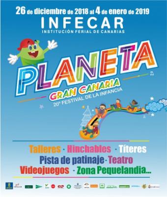 PLANETA GRAN CANARIA, 20º FESTIVAL DE LA INFANCIA