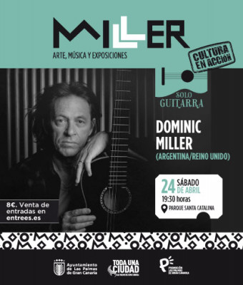 SOLO GUITARRA. DOMINIC MILLER