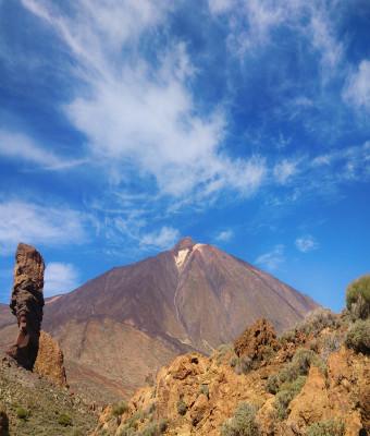 Teide Parque Nacional Medio Día