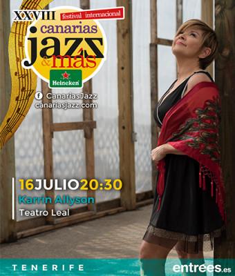 Karrin Allyson - Festival Internacional Canarias Jazz & Más Heineken