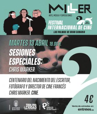 SESIONES ESPECIALES (CENTENARIO CHRIS MARKER)