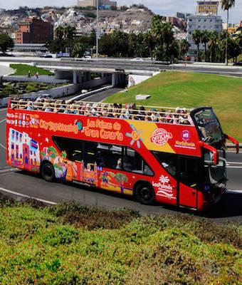 Bus Turístico de Las Palmas de Gran Canaria, City Sightseeing tour
