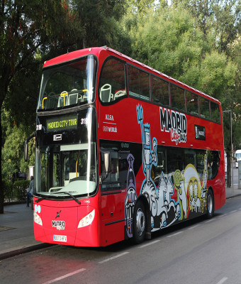 Madrid Hop-on Hop-off — Tour en autobús