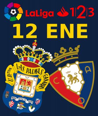 LaLiga 123 - UD Las Palmas VS CA Osasuna