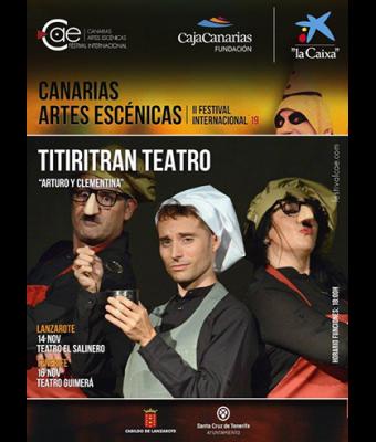 ARTURO Y CLEMENTINA - Titiritran Teatro