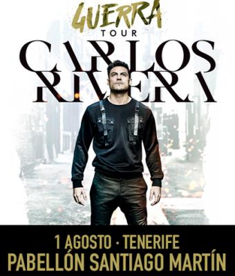 CARLOS RIVERA Guerra Tour - Sta. Cruz de Tenerife