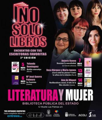 """No solo libros, """"Jornada, Literatura y Mujer"""""""