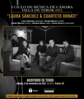 Laura Sánchez & Cuarteto Ornati. I Ciclo de Música de Cámara Villa de Teror