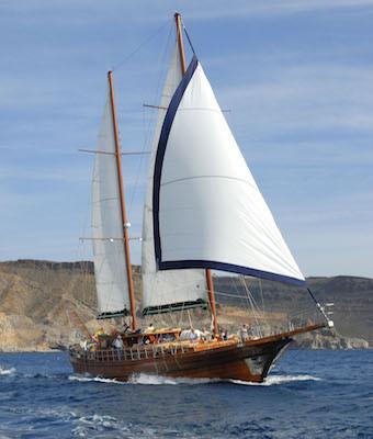 Viaje en barco Aphrodite por Gran Canaria