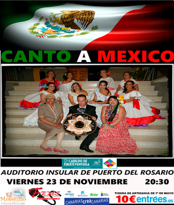CANTO A MEXICO