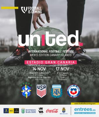 United. International Football Festival U23, Canary Islands