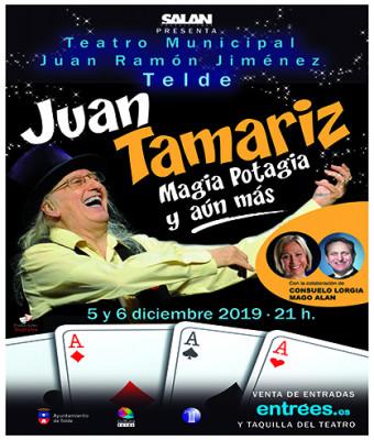 Magia Potagia y aún más con JUAN TAMARIZ
