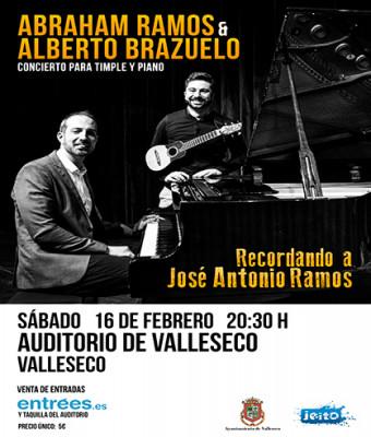 Abraham Ramos y Alberto Brazuelo, Recordando a Jose Antonio Ramos