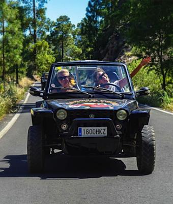 Tour en Buggy por carretera - Cabrio Tour