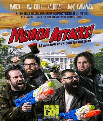 MURCIA ATTACKS!