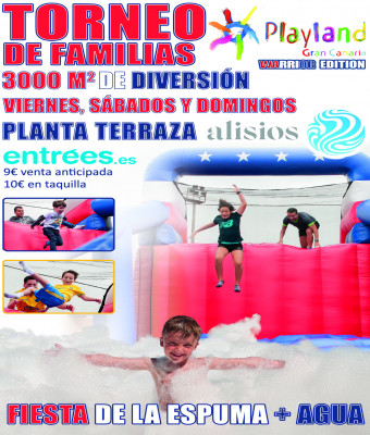 Playland Gran Canaria Warrior Edition
