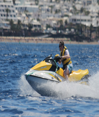 Tours y alquiler de motos acuáticas