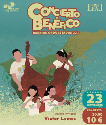 CONCIERTO BENÉFICO BARRIOS ORQUESTADOS