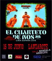 El Cuarteto de Nos en Lanzarote única actuación en Canarias