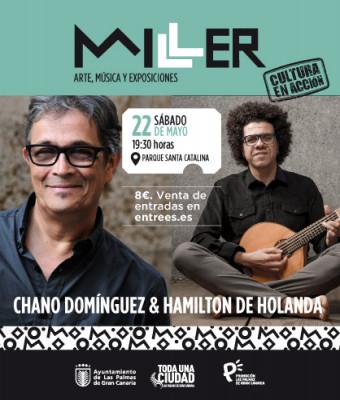 CHANO DOMÍNGUEZ - HAMILTON DE HOLANDA