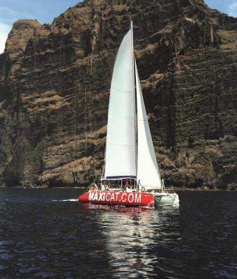 Crucero en el catamarán Maxicat